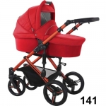 Carucior Solaris Red Colection 3 in 1