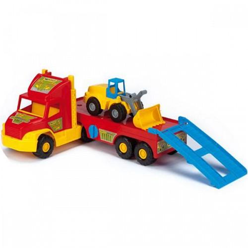 Camion Super Truck cu buldozer