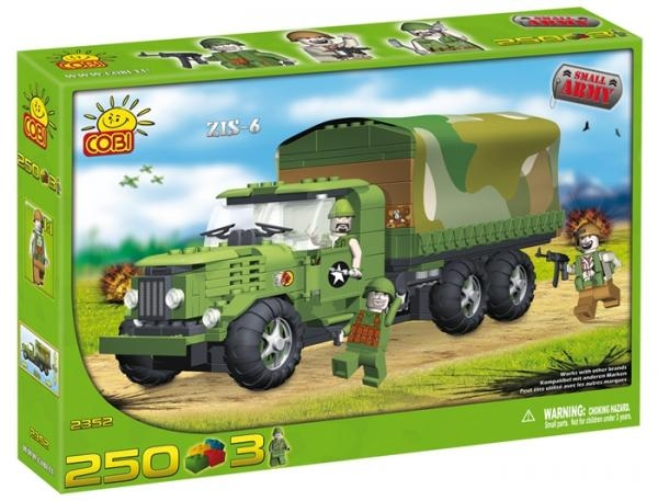 Camion militar ZIS-6 - 2352