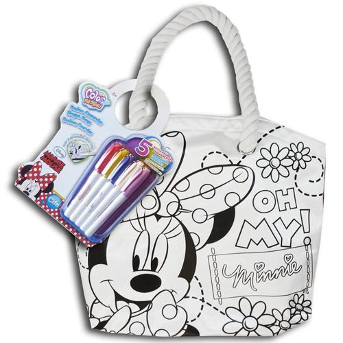 Color Me Mine Rope Bag Minnie Mouse