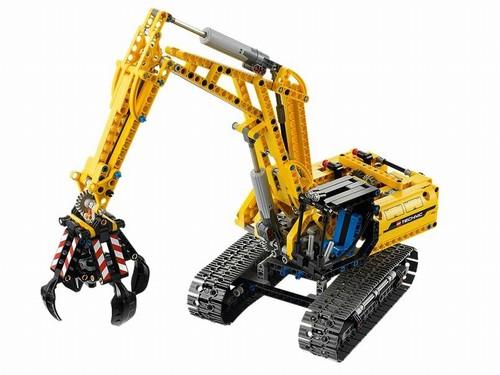 Excavator din seria Lego tehnic