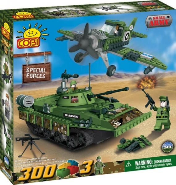 Forte Speciale cu avion si tanc - 2411