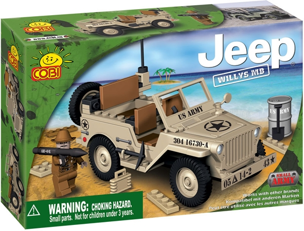 Jeep Willys MB gri - 24111