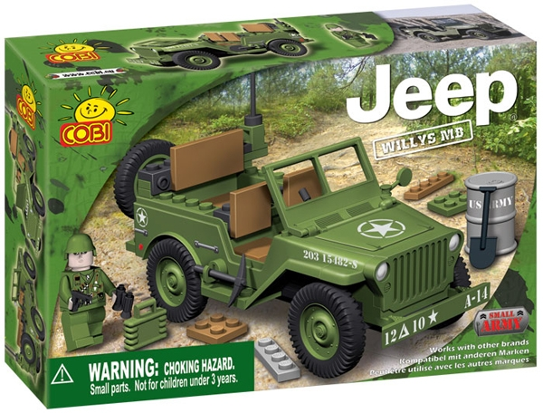 Poza Jeep Willys MB verde - 24110