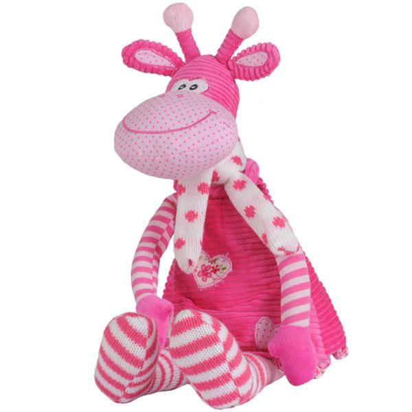 Jucarie din plus cu zornaitoare Girafa L