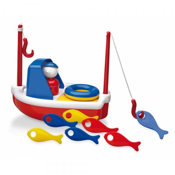 Jucarie pentru baie Fishing Boat