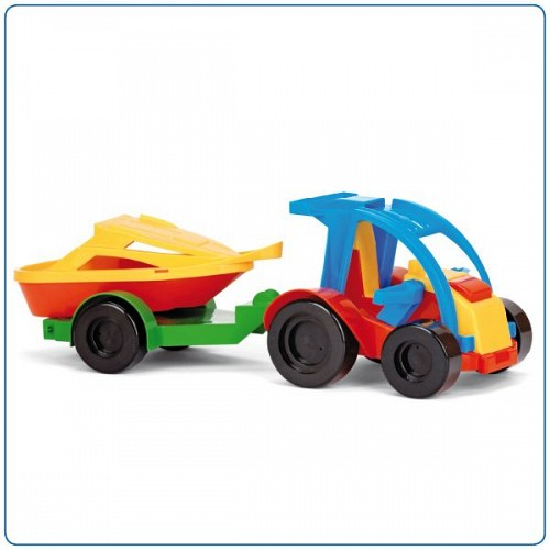 Kid Cars Buggy cu remorca