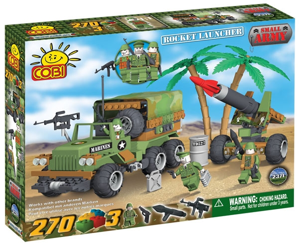 Poza Lansator de rachete si Camion infanterie