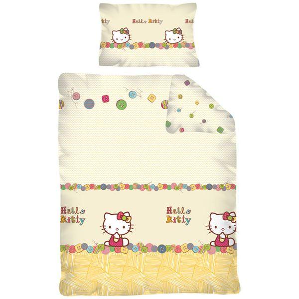 Lenjerie de pat Hello Kitty 100 x 135cm