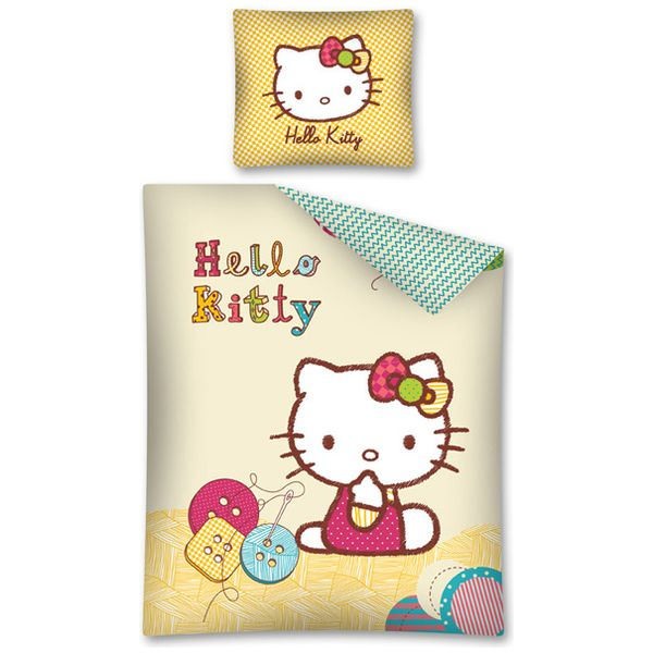 Lenjerie de pat Hello Kitty 160 x 200cm