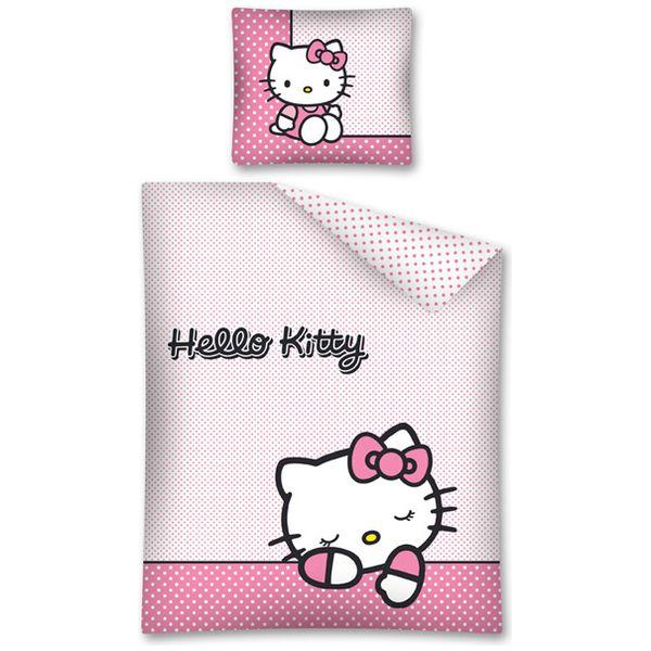 Lenjerie de pat Hello Kitty 160 x 200cm