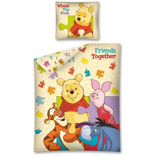 Lenjerie de pat Winnie the Pooh 160 x 20