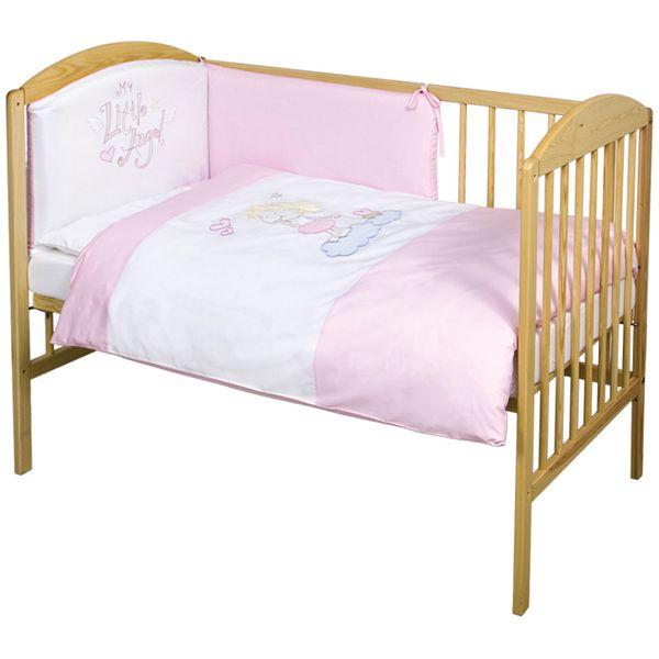 Lenjerie de pat cu 3 piese My little Angel
