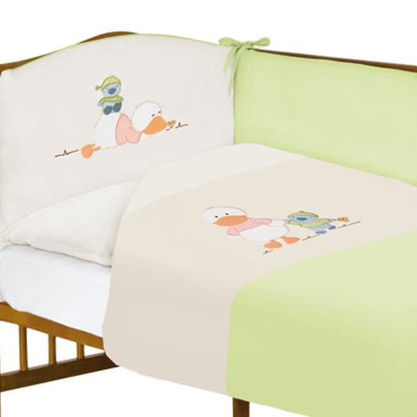Lenjerie de pat cu 3 piese Ducky