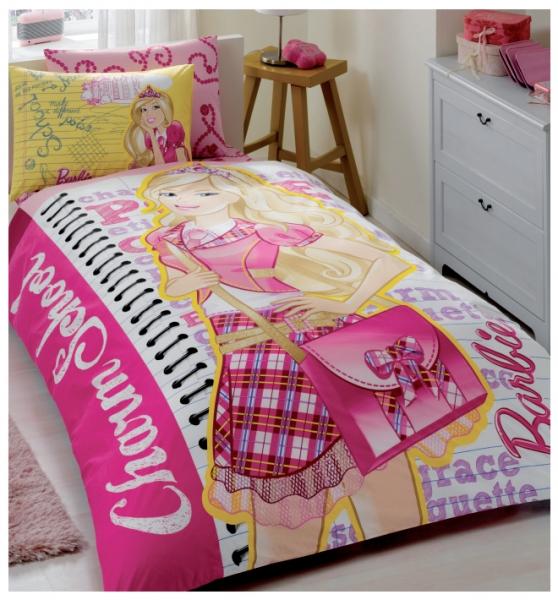 Lenjerie pat Barbie Charm School