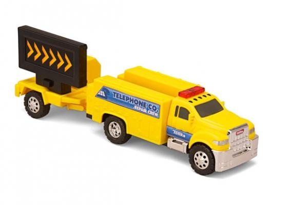 Masina de interventie drumuri cu remorca