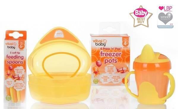 Pachet Vital Baby Feeding, 6+
