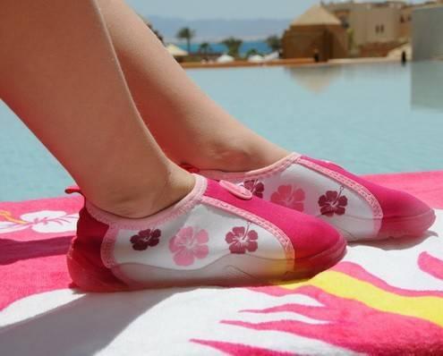 Pantofi De Plaja Si Apa Copii, Roz