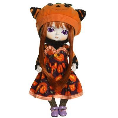 Papusa decor Pumpkin - Toffee
