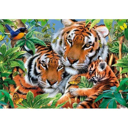 Puzzle 1000 Piese Tigrii