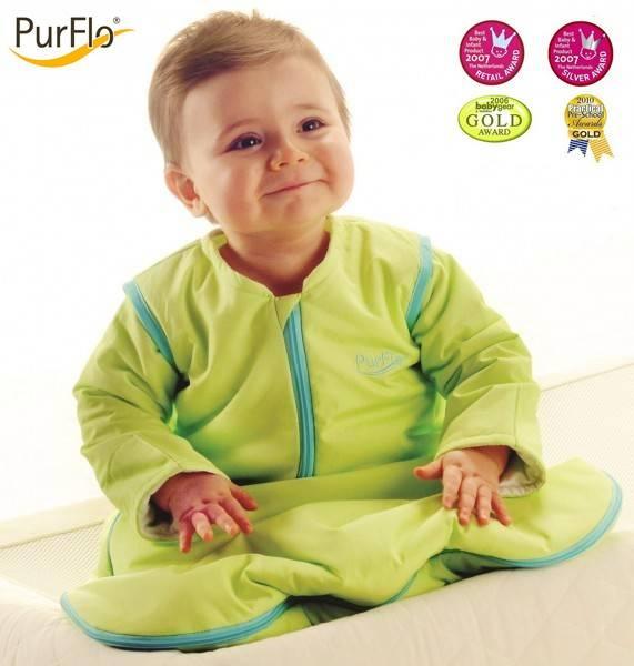 Sac de dormit PurFlo, uni 0-3 luni (55 c