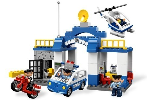 Statie de politie din seria LEGO Duplo