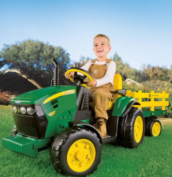 Tractor electric John Deere Ground Force - 2