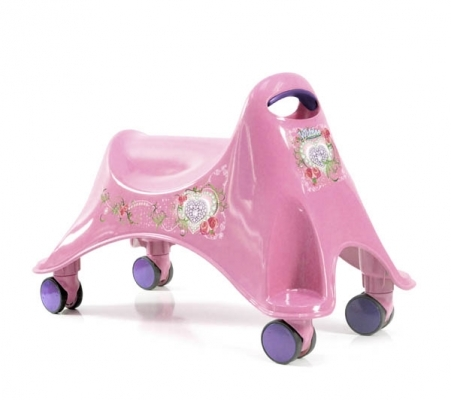Vehicul fara pedale Whirlee (2 culori) - ToyMonster