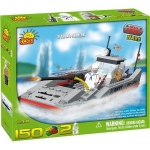 Set de construit ambarcatiune Thunder - Cobi