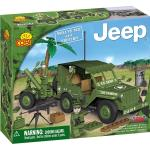 Set de construit Jeep Willys M38 cu mortier - Cobi