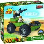 Set de construit vehicul militar Marshal  - Cobi