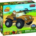 Set de construit vehicul militar Storm - Cobi