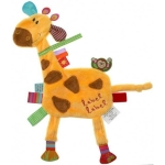 Minipaturica senzoriala Label Label Friends - Girafa