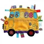 Minipaturica senzoriala Label Label Holiday - Schoolbus