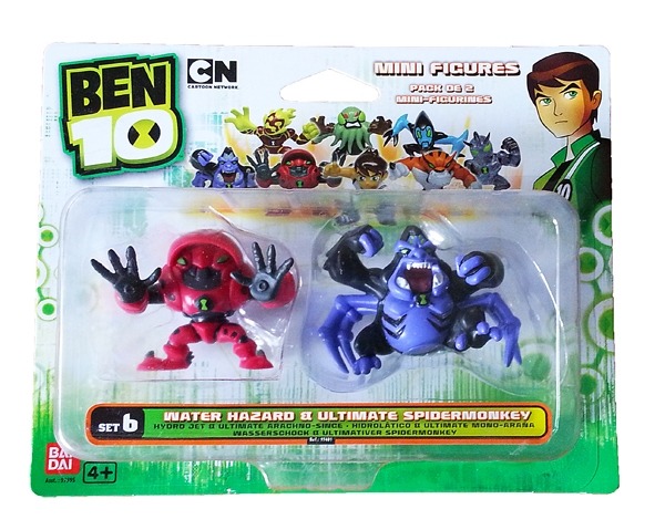 Ben 10 - 2 Mini Figurine Set (blister) -