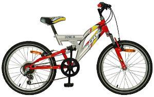 Bicicleta 20 X200 cu suspensii