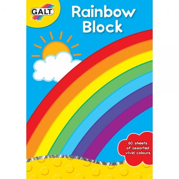 Coli desen Asortate Rainbow Block