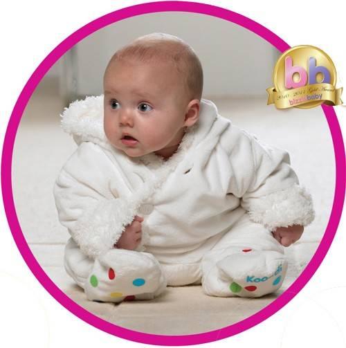 Costum bebelus Fluffy 6-12 luni