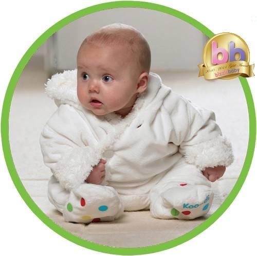 Costum bebelus Fluffy 3-6 luni