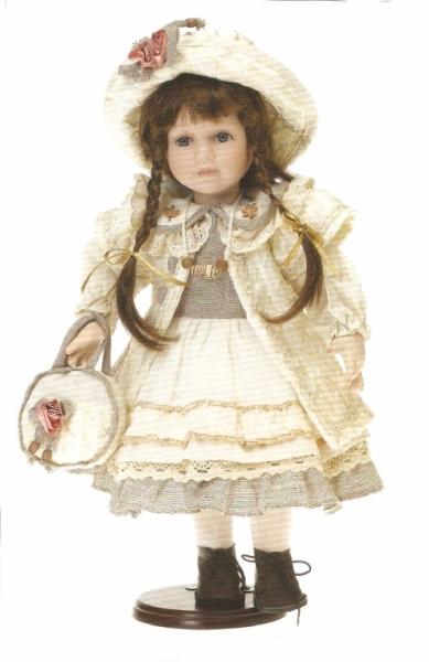 Fata cu poseta si palarie - 119626
