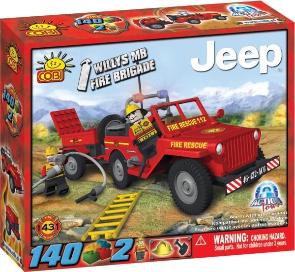 Jeep de pompieri, pentru interventie rap