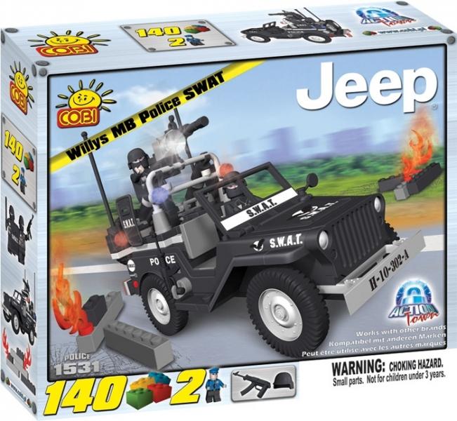 Jeep pentru echipa de interventie Swat -