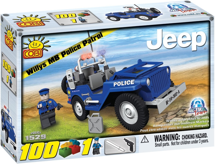 Jeep pentru patrula de Politie - 1529