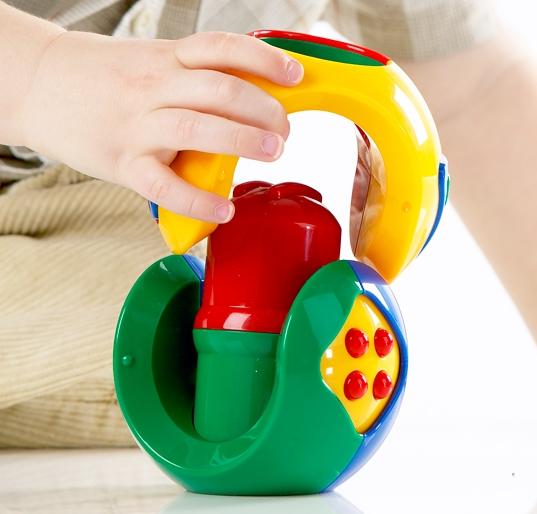 Jucarie Puzzle Ball pentru bebelusi