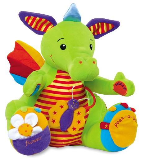 Jucarie bebelusi cu activitati Dragon