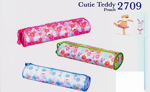 Koh-I-Noor Hardtmuth Penar cu 1 fermoar, tubular, sectiune rotunda - Cutie Teddy