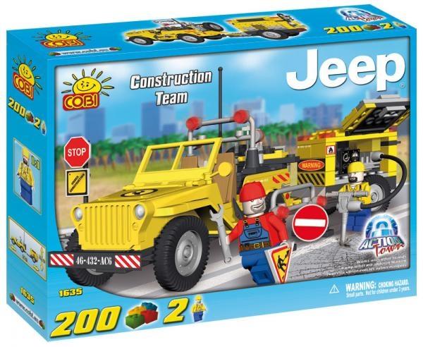Set Jeep - echipa de constructii - 1635