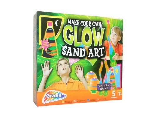 Set arta cu nisip luminescent - Grafix