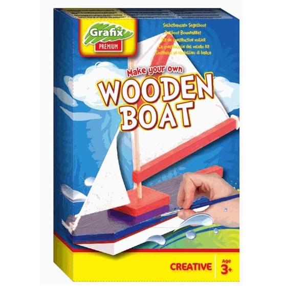 Set corabie din lemn - Grafix