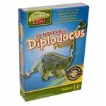 Puzzle 3D DIPLODOCUS - Grafix